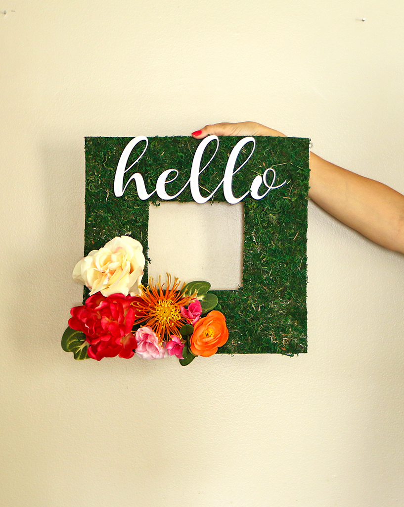 Hello Front Door Wreath