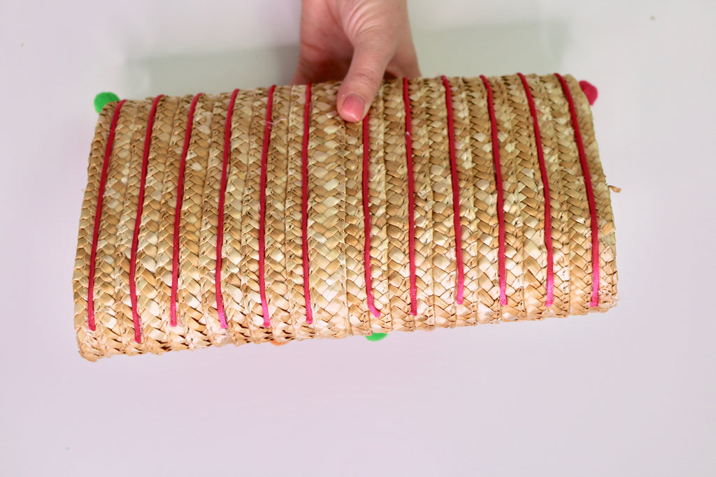 DIY Straw Clutch