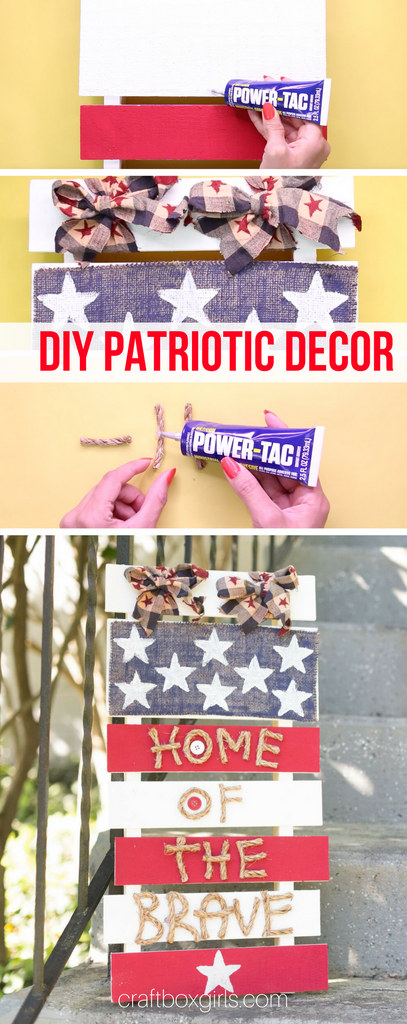 DIY Patriotic Pallet Sign