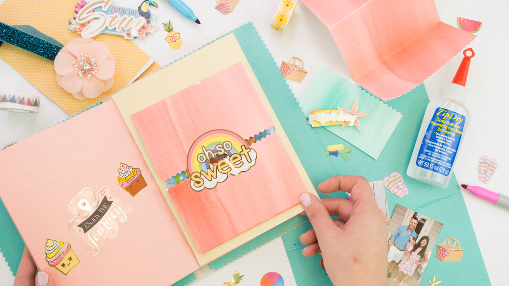 DIY Travel Journal Paper Craft