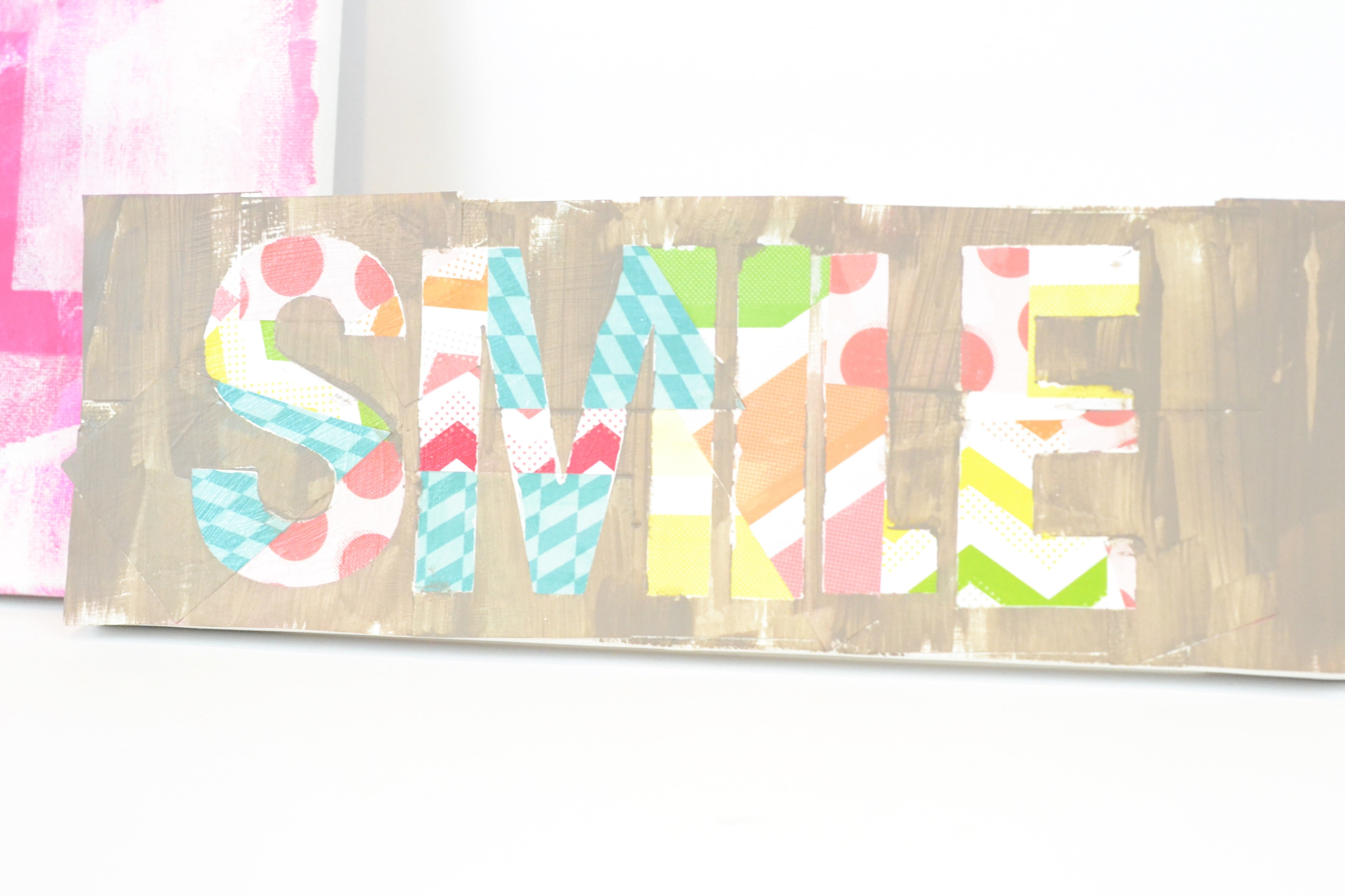 Layered Canvas Art for Kids