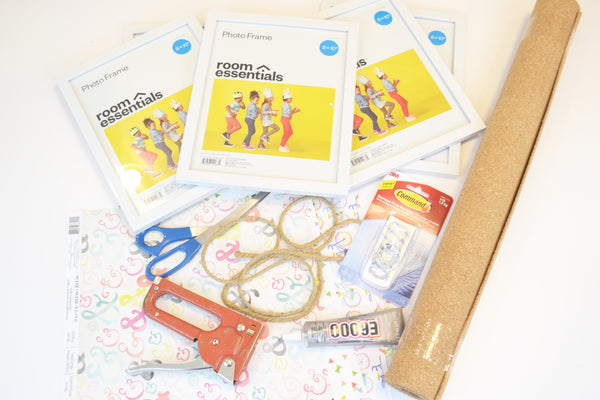 DIY Activity Board Supplies