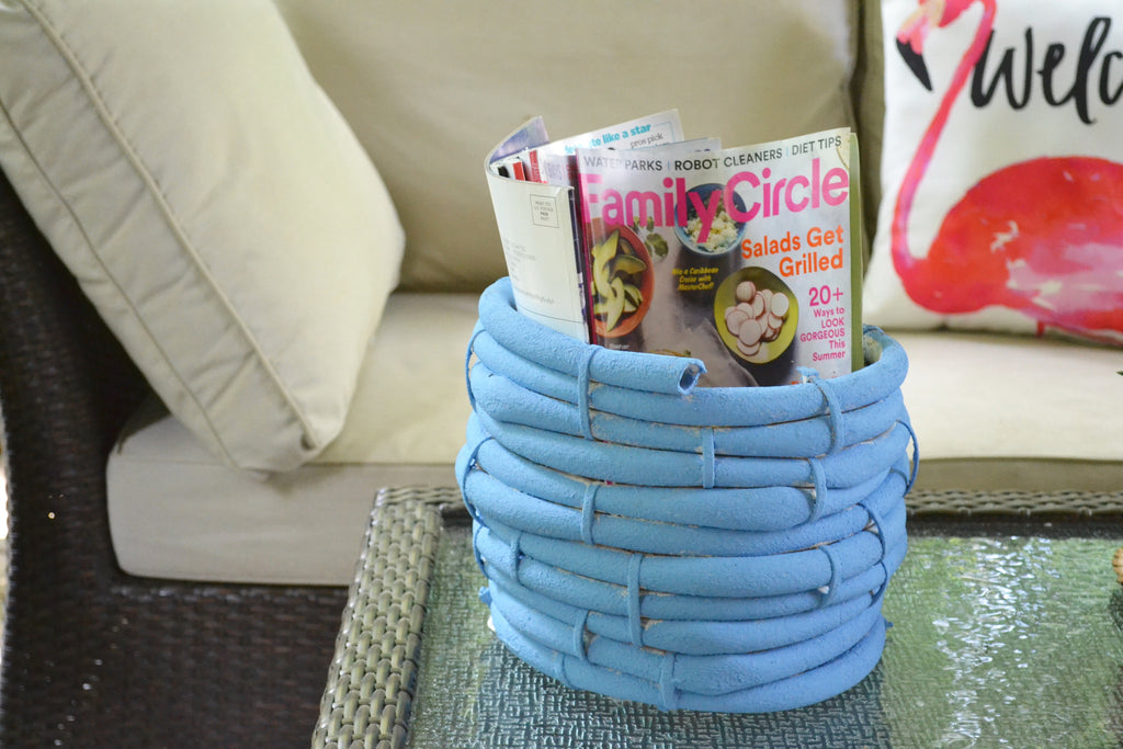 DIY Hose Basket