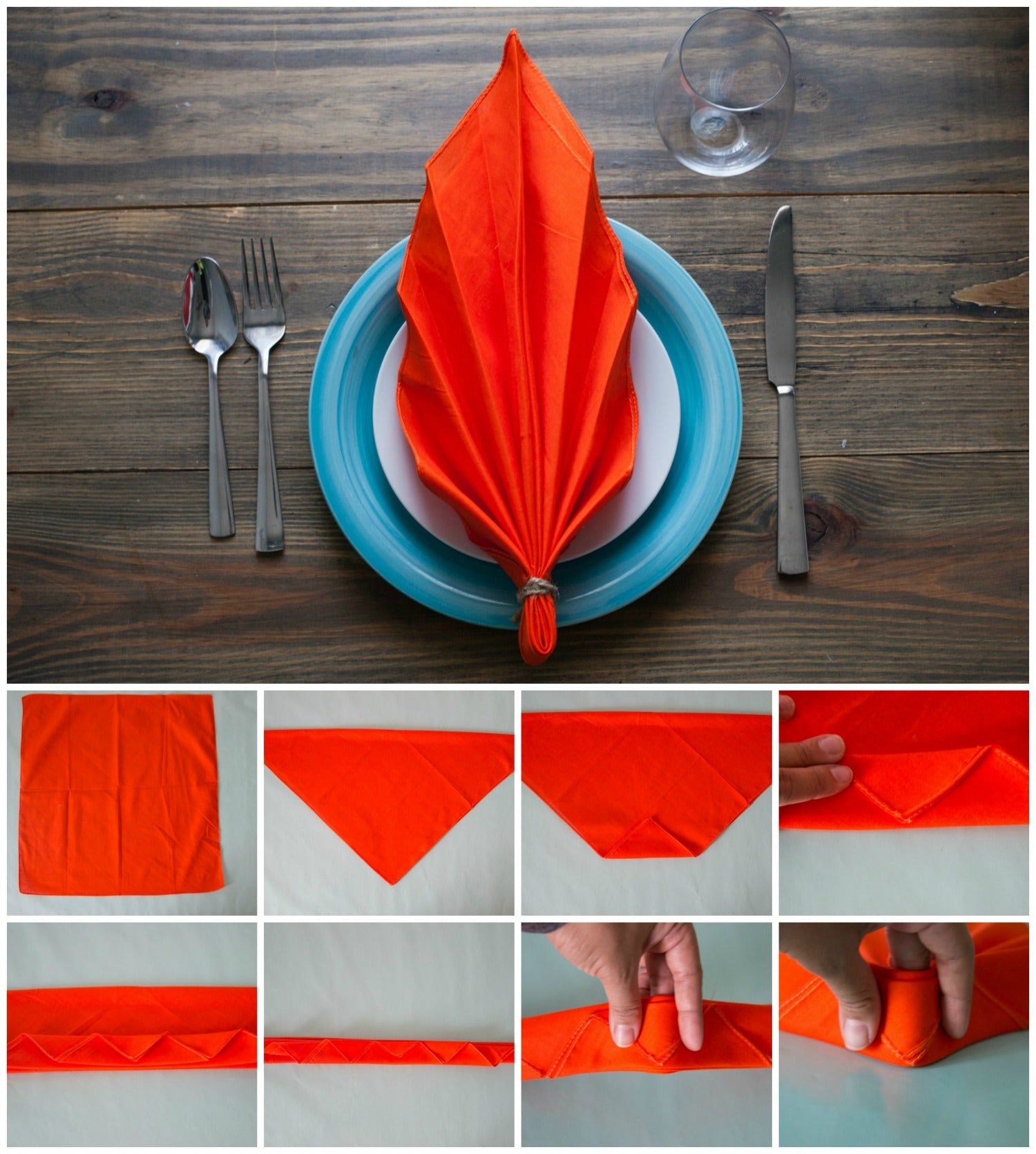 fall leaf napkin