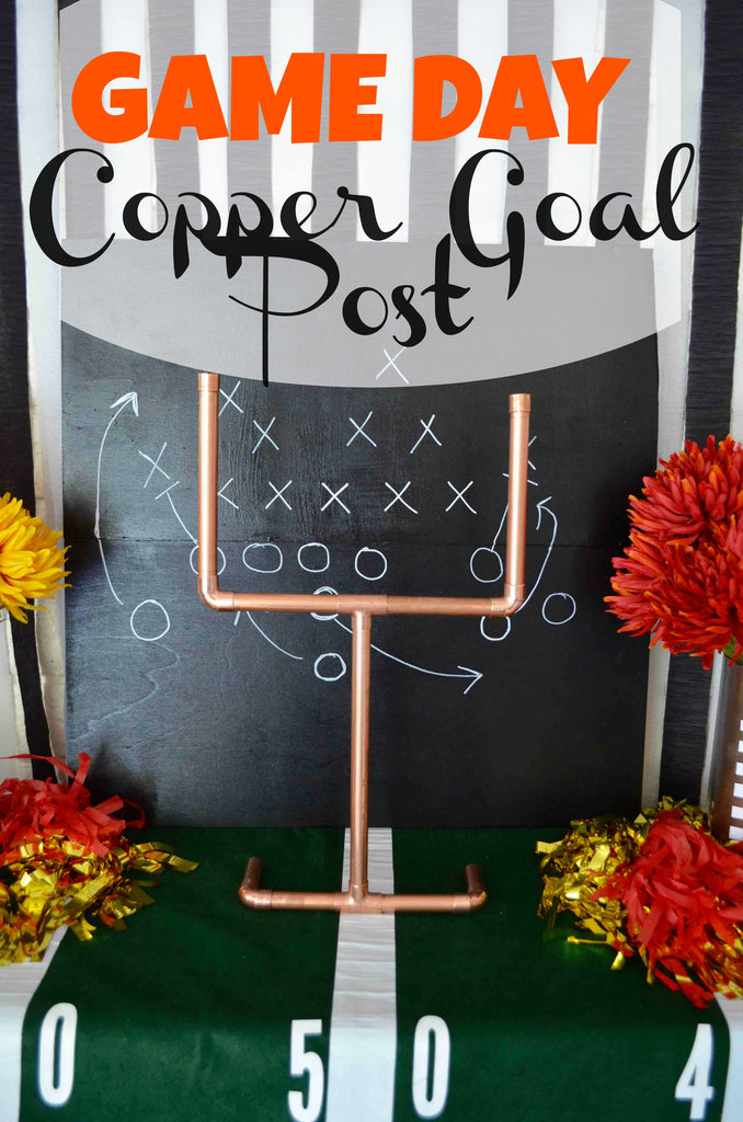 Game Day Copper Goal Post