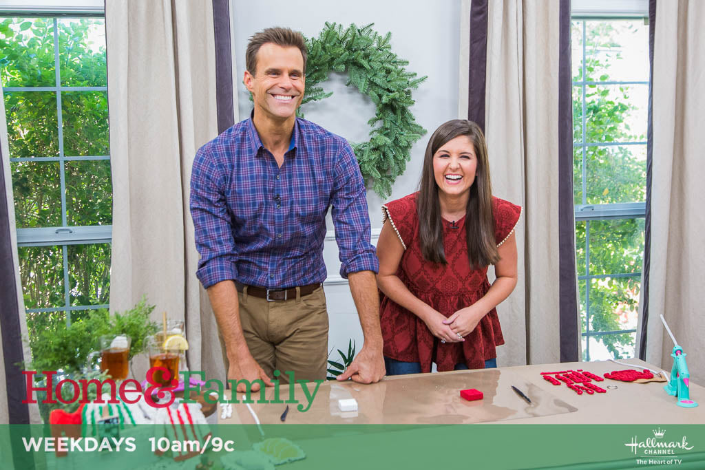 Lynn Lilly on Hallmark Home & Family