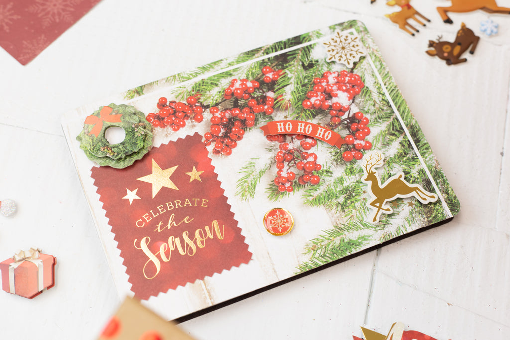 Easy Christmas Card Making