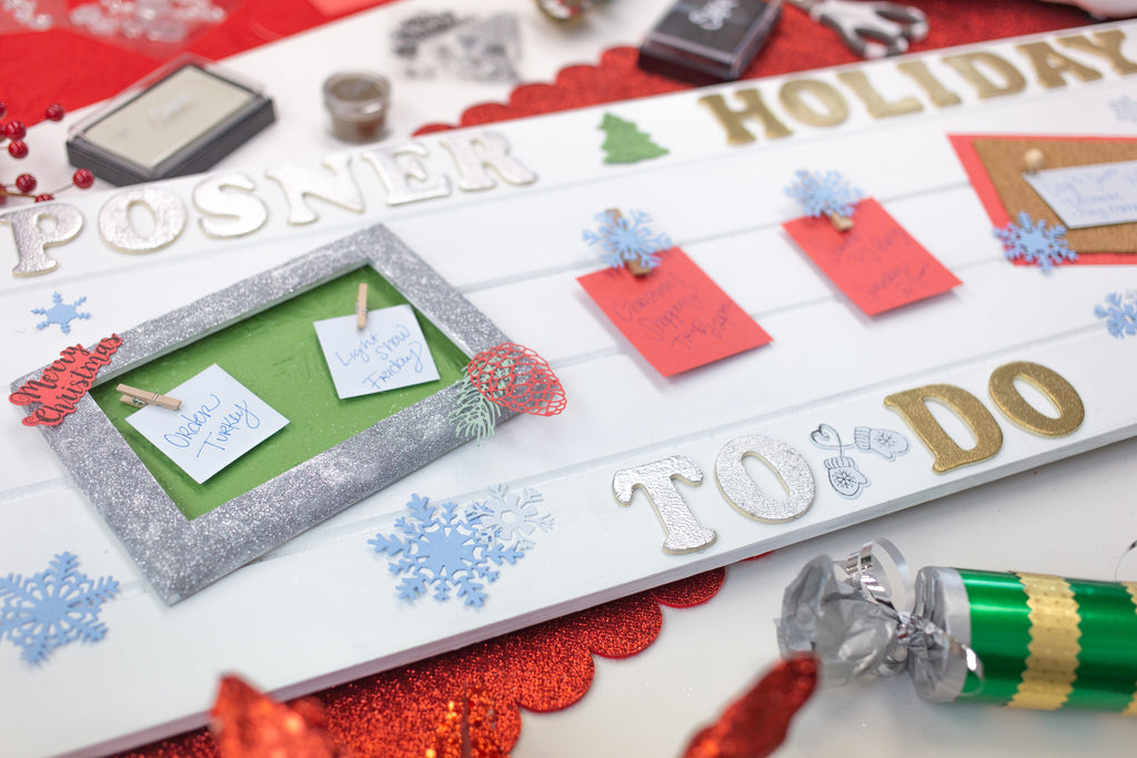 Sizzix Big Shot Holiday To Do