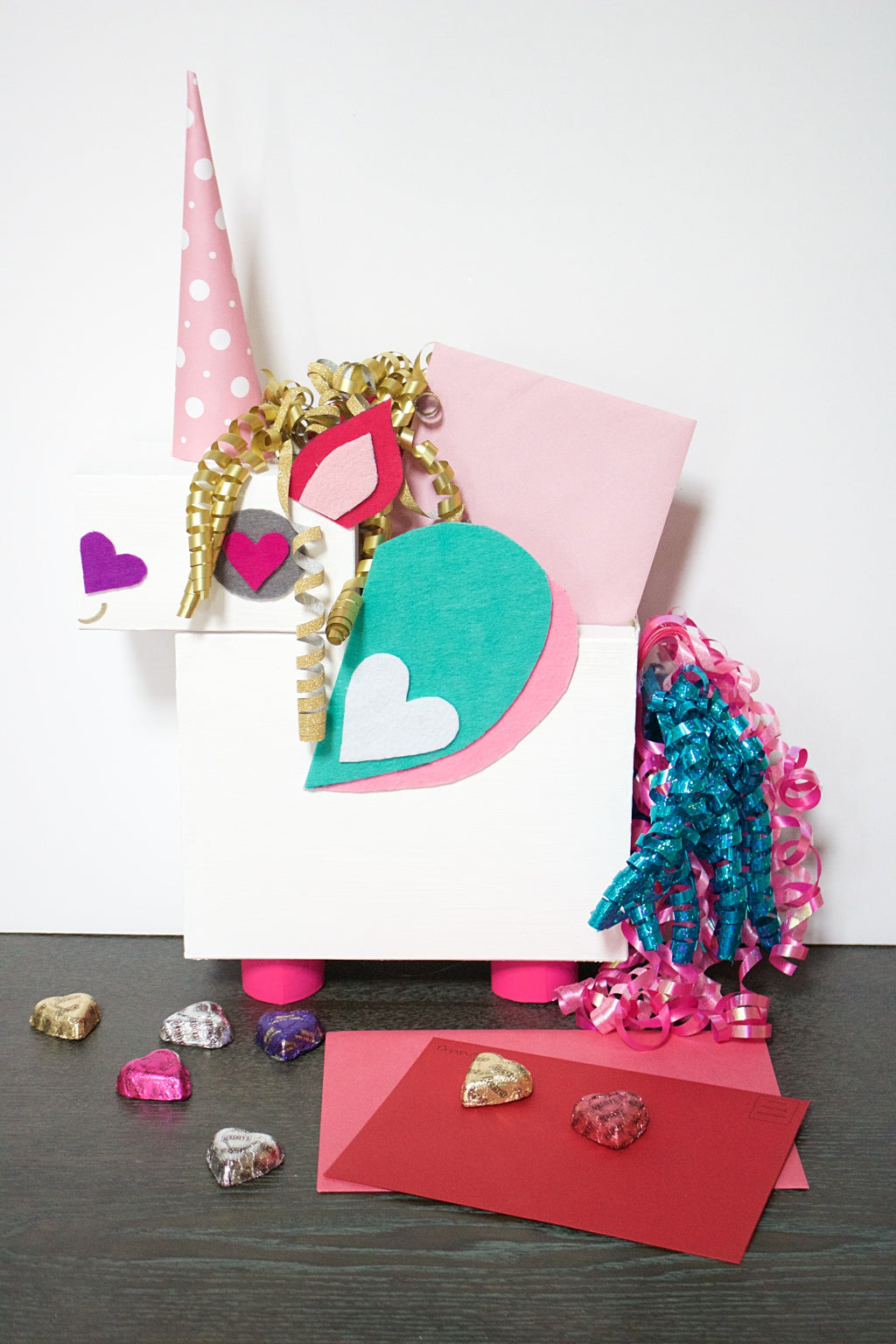 DIY Unicorn Holder for Valentine's Day