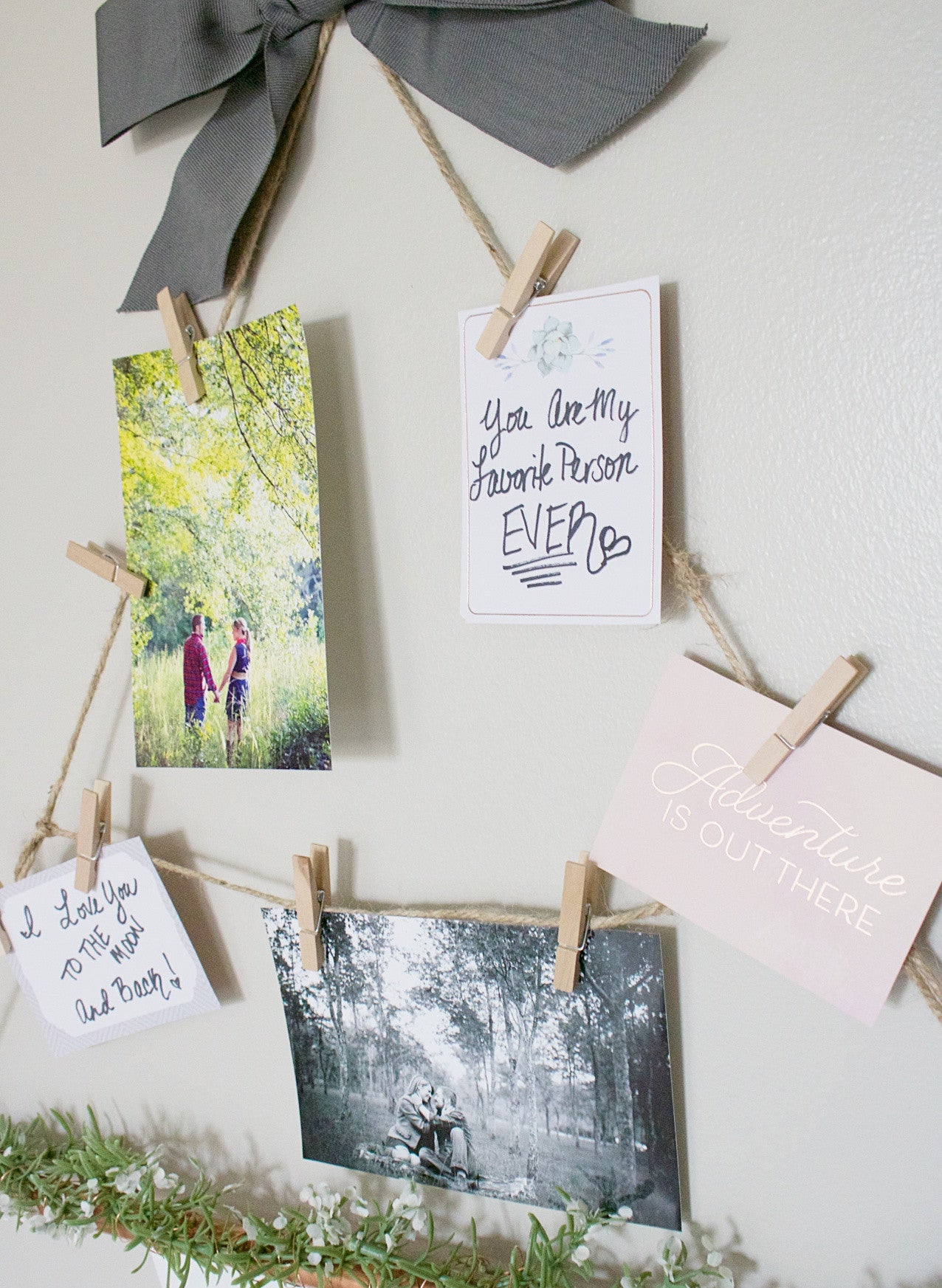 DIY Hanging Display
