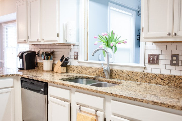 DIY Kitchen Backsplash Home Improvement Project