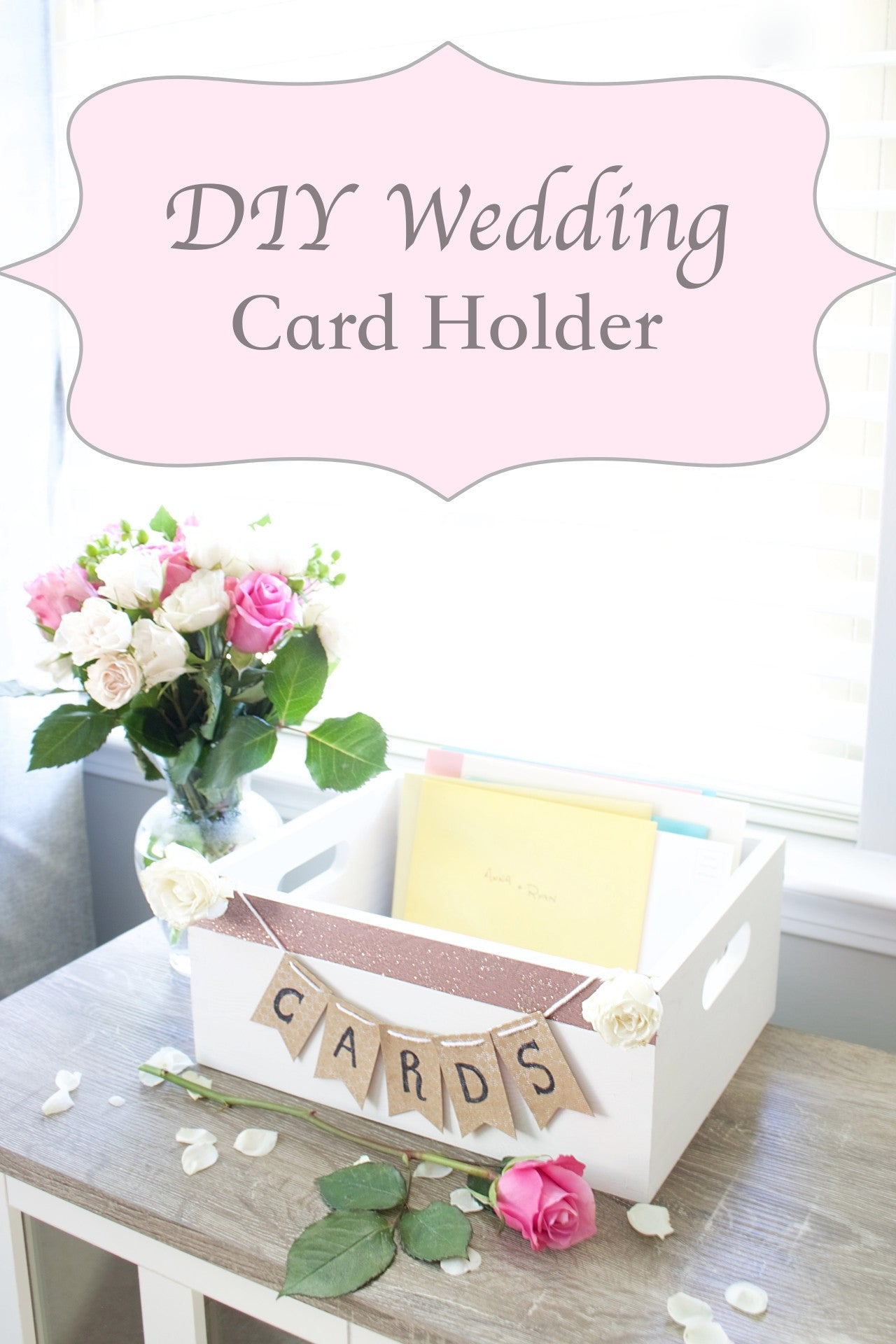 DIY Wedding Card Holder