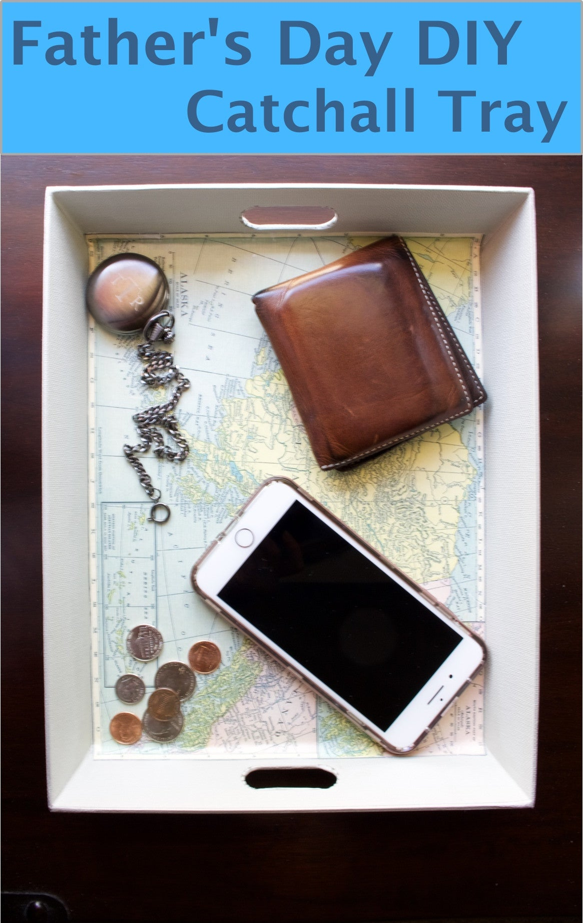 Father's Day DIY Catchall Tray