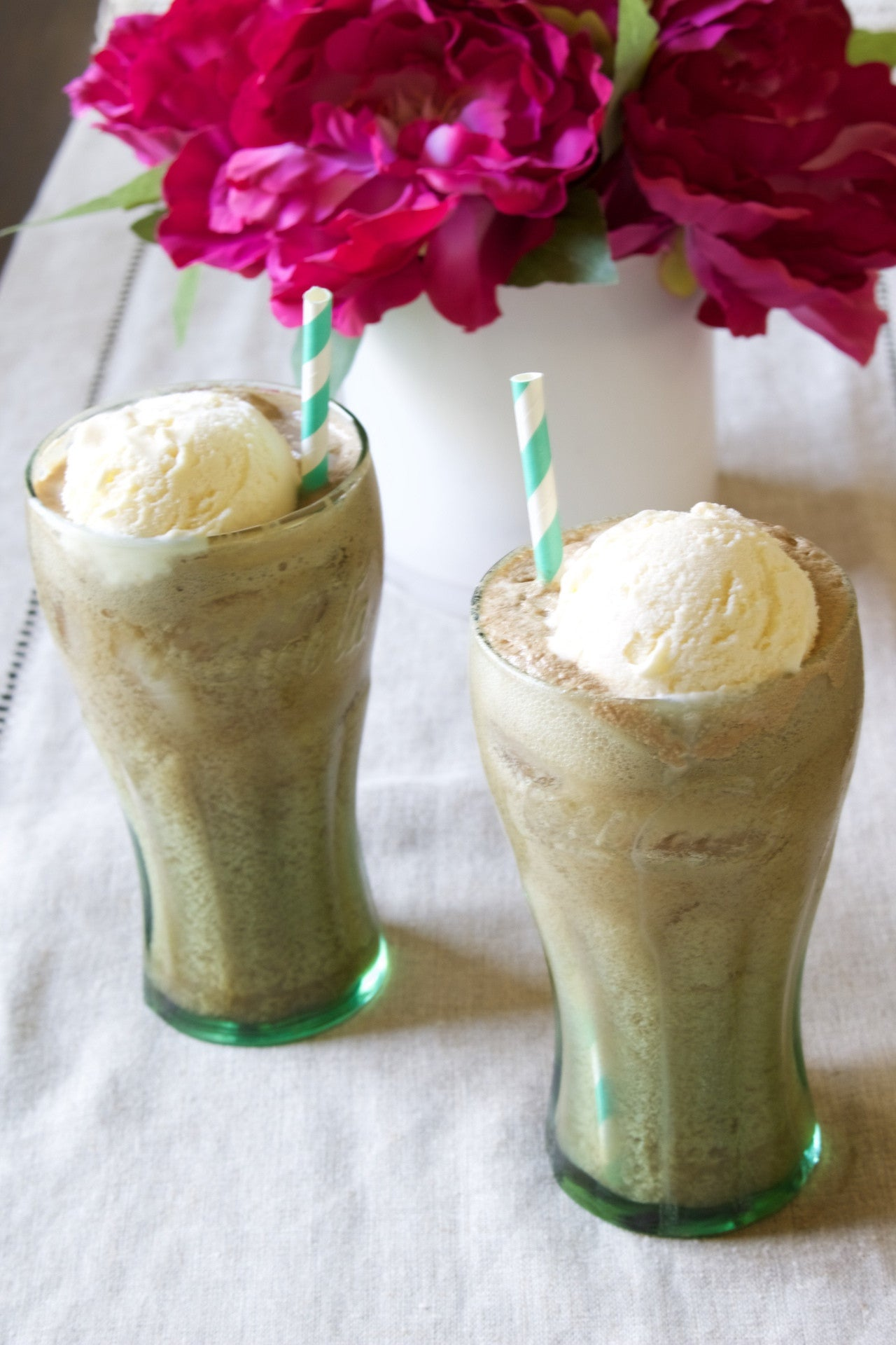 Boozy Coke Float