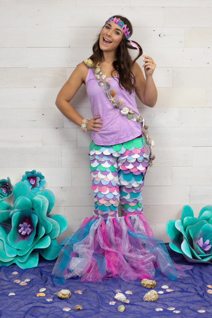 DIY Mermaid Halloween Costume