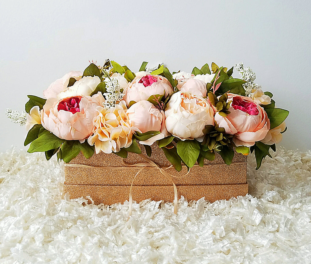 Diy flower bouquet box craft box girls flower bouquet box izmirmasajfo