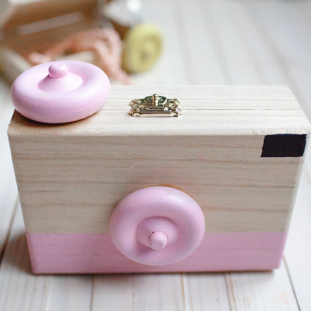 Toy Camera Jewelry Box