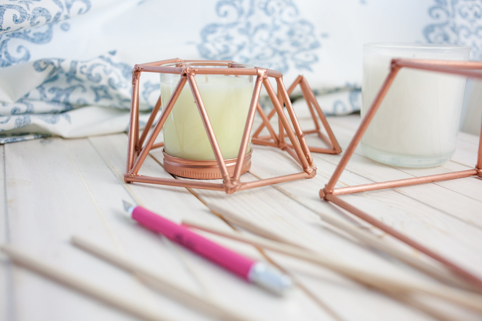 DIY Copper Candle Cover Challenge
