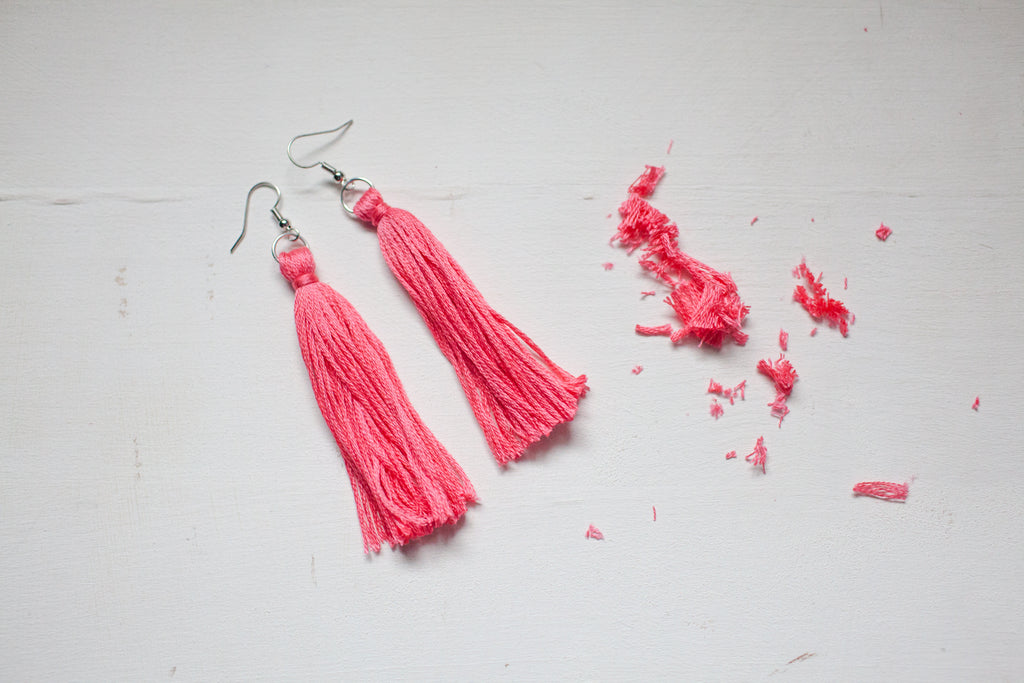 DIY Tassel Jewelry