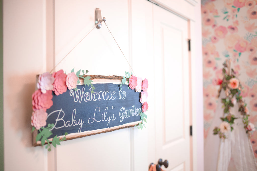 DIY Nursery Sign