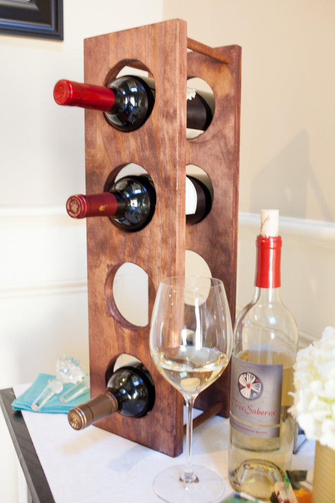 How To Make A Wine Rack Diy Projects Craft Box Girls