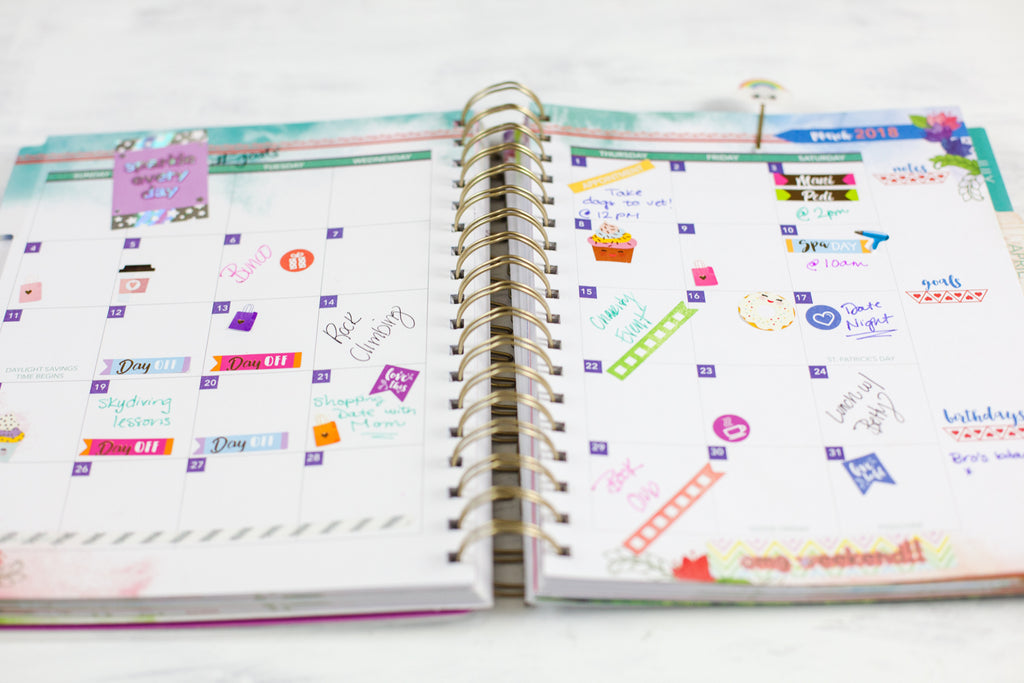 Paper House Productions 2018 Planners