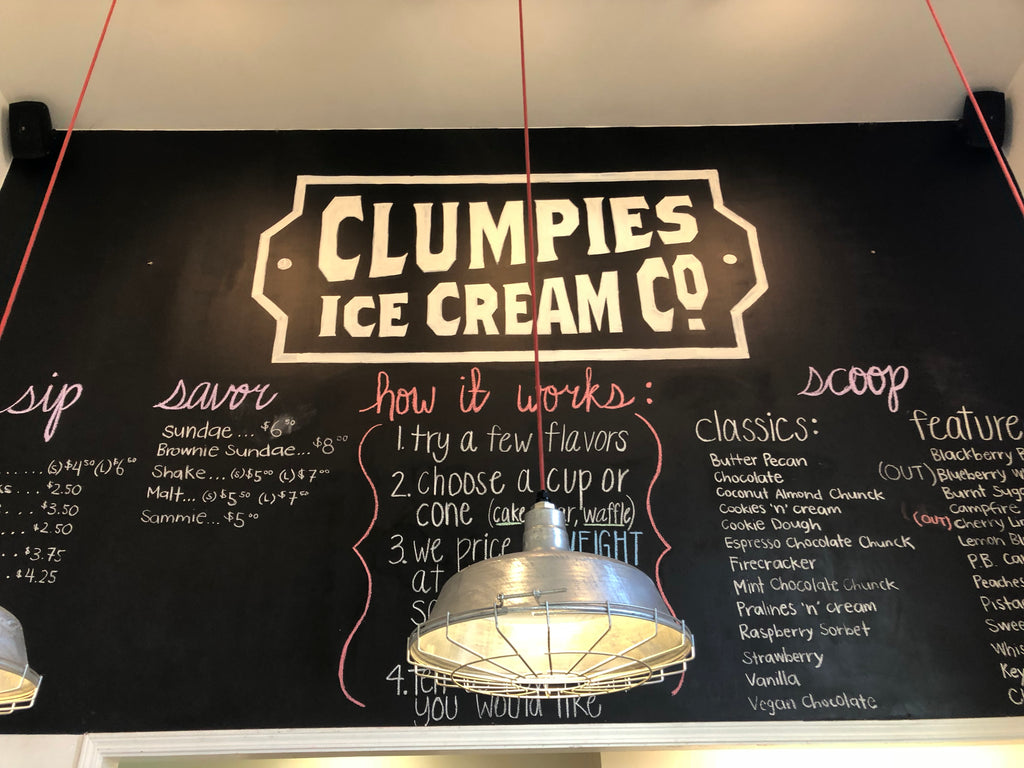 Clumpies Ice Cream Co Chattanooga
