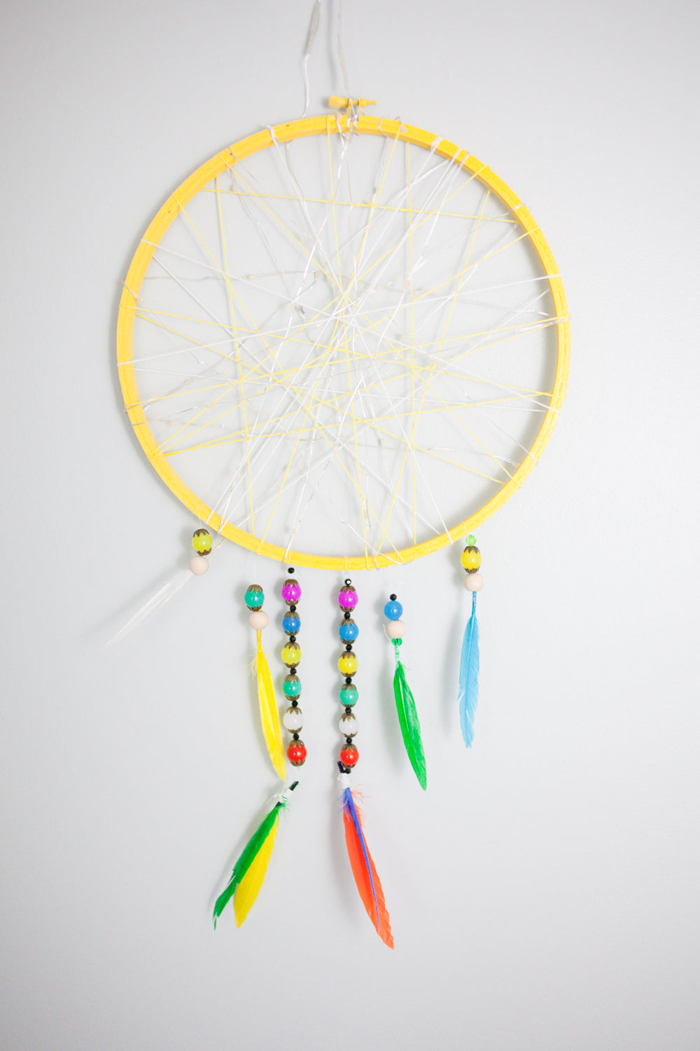 Kids Craft Dreamcatcher