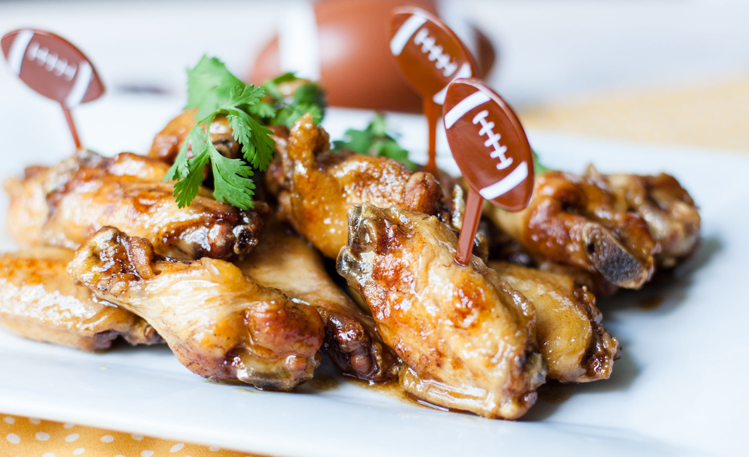 Hot and Tangy Wings