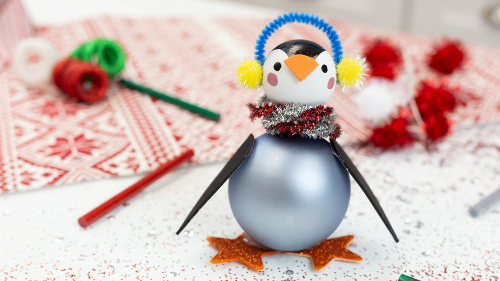 Penguin Ornament Craft
