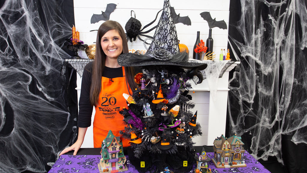 Lemax Spooky Town Halloween Collection Village Set-Up