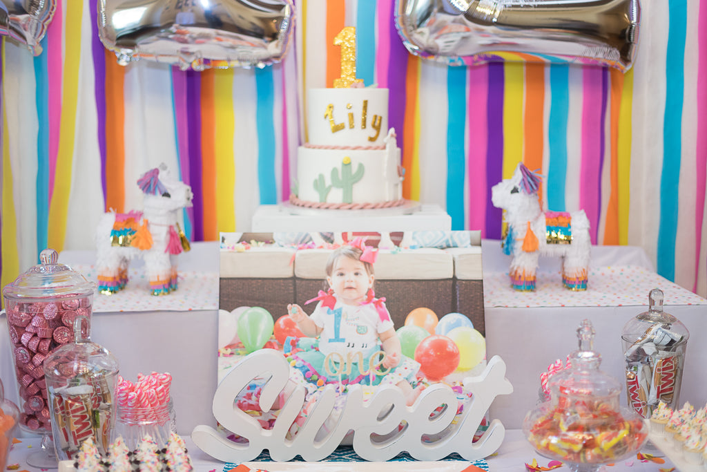 Llama First Birthday Party