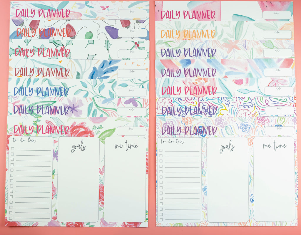 Free Print at Home Planner Sheets by Lynn Lilly