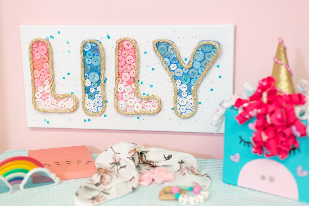 DIY Kids Name Sign