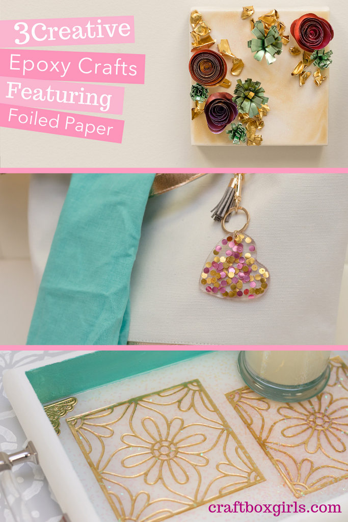 DIY Foiled Paper Crafts