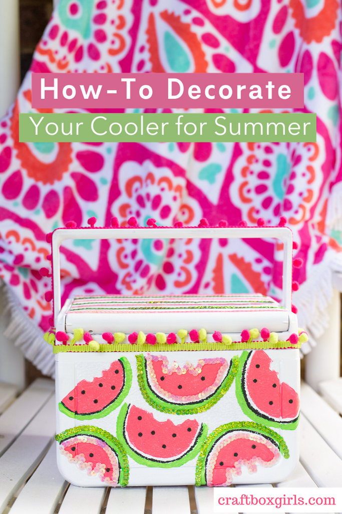 How to Decorate a Drink Cooler