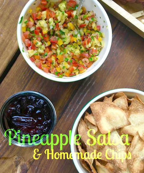 Pineapple Salsa and Chips