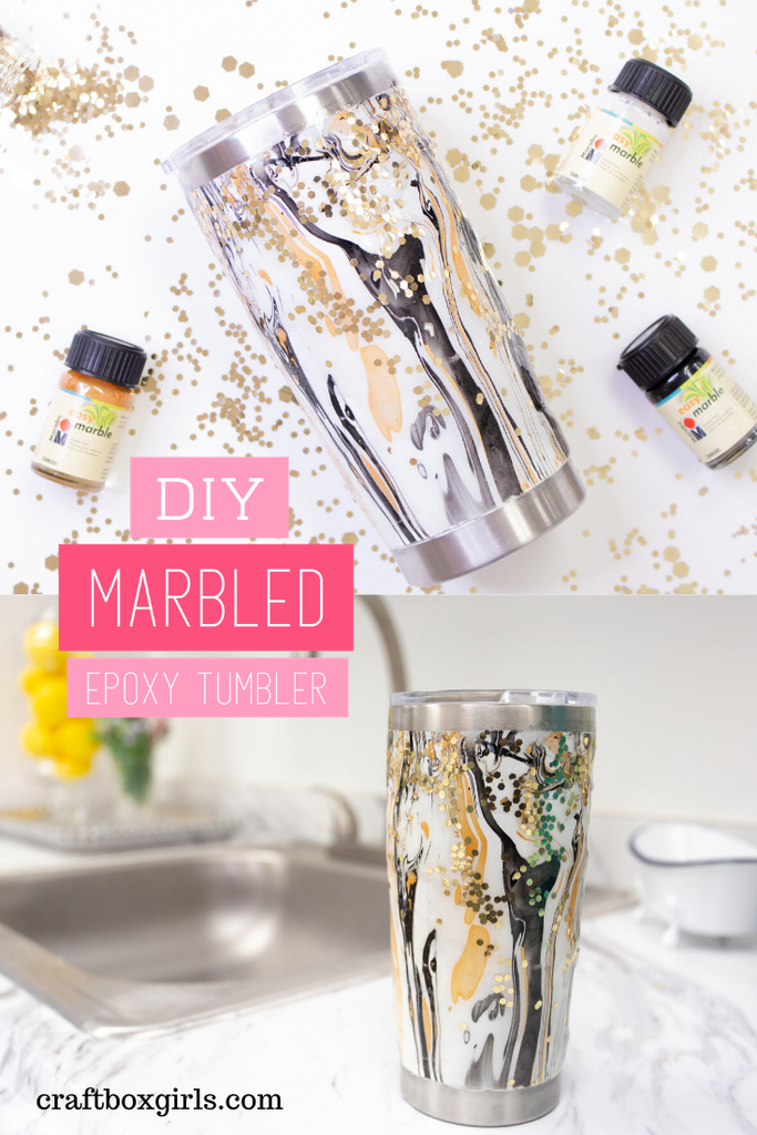 DIY Marbled Custom Epoxy Tutorial