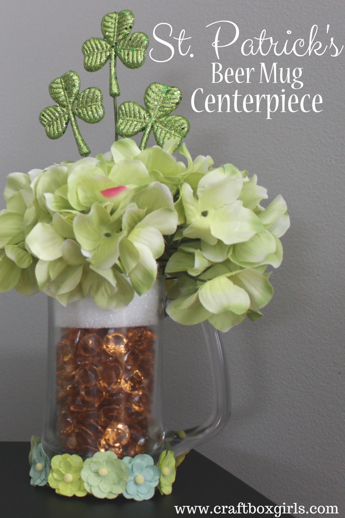 Beer Mug Centerpiece – Craft Box Girls