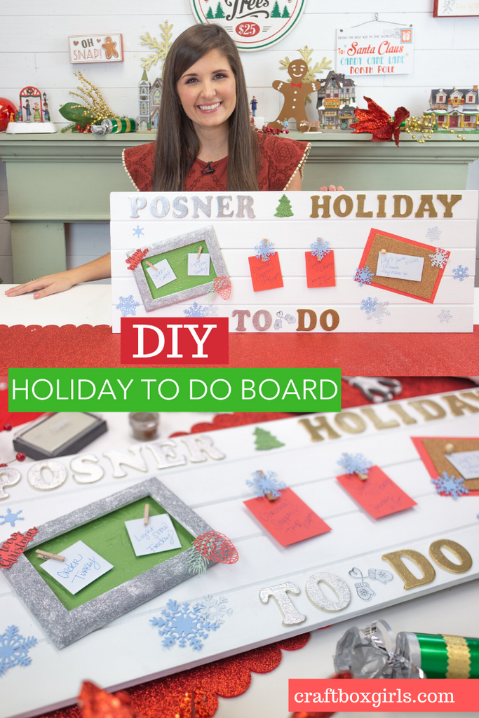 Holiday To Do Board with Sizzix Big Show