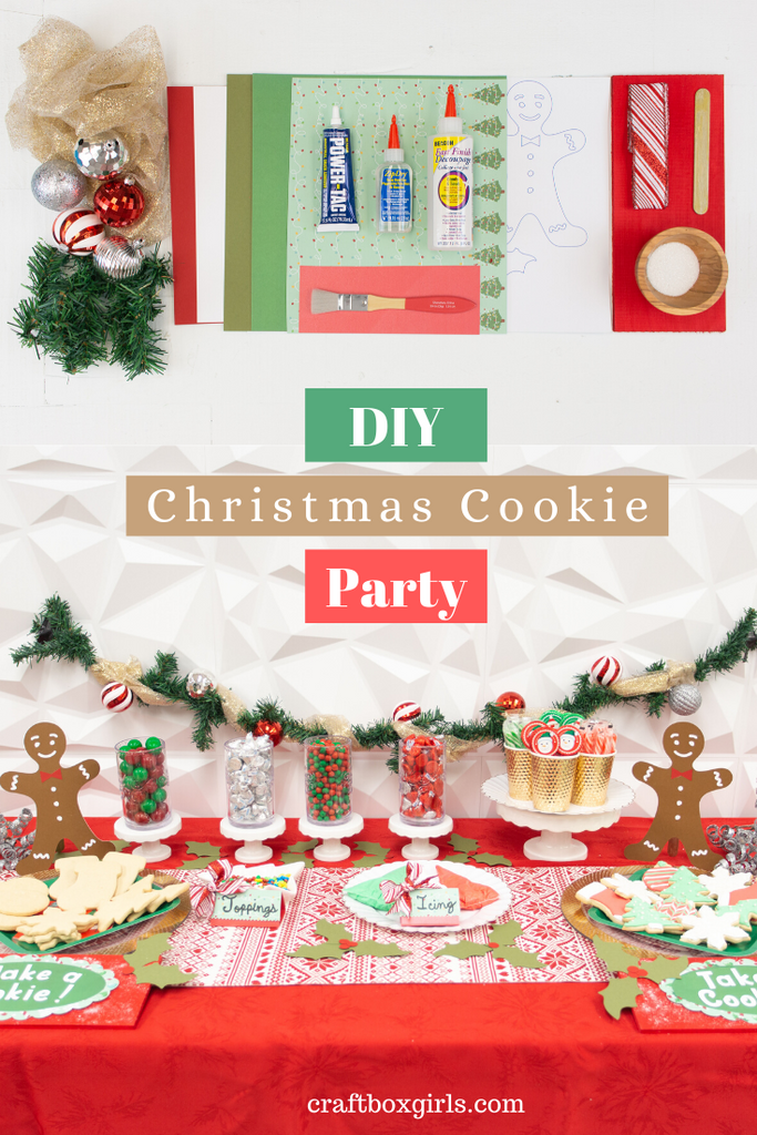 DIY Cookie Decorating Party
