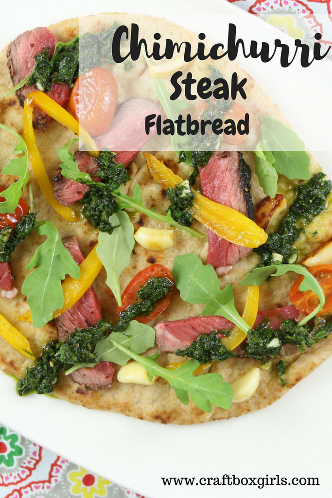 Chimichurri Steak Flatbread