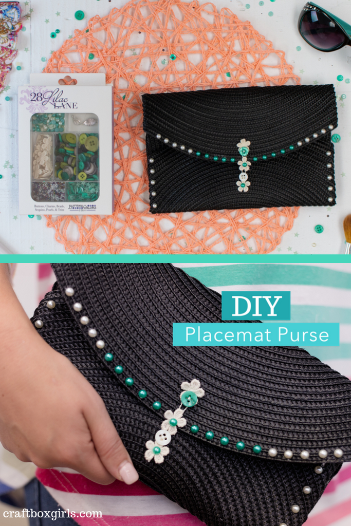 DIY Placemat Purse