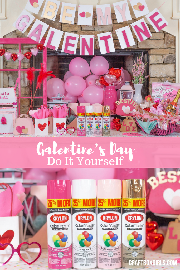 DIY Galentine's Day Party