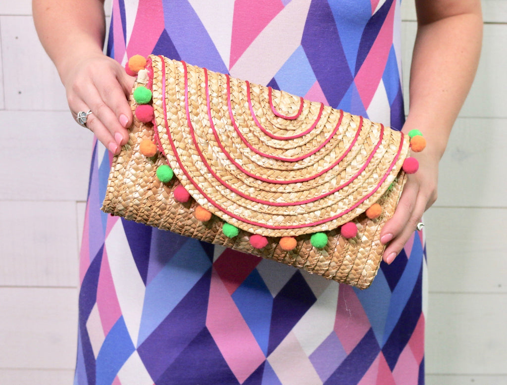 DIY Beach Clutch