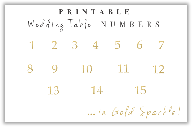 Remarkable Printable Wedding Table Numbers Craft Box Girls Download Free Architecture Designs Rallybritishbridgeorg