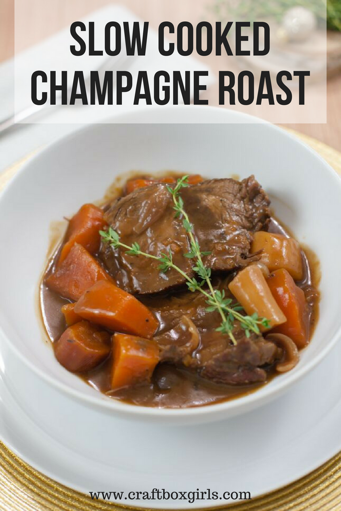Slow Cooked Champagne Pot Roast