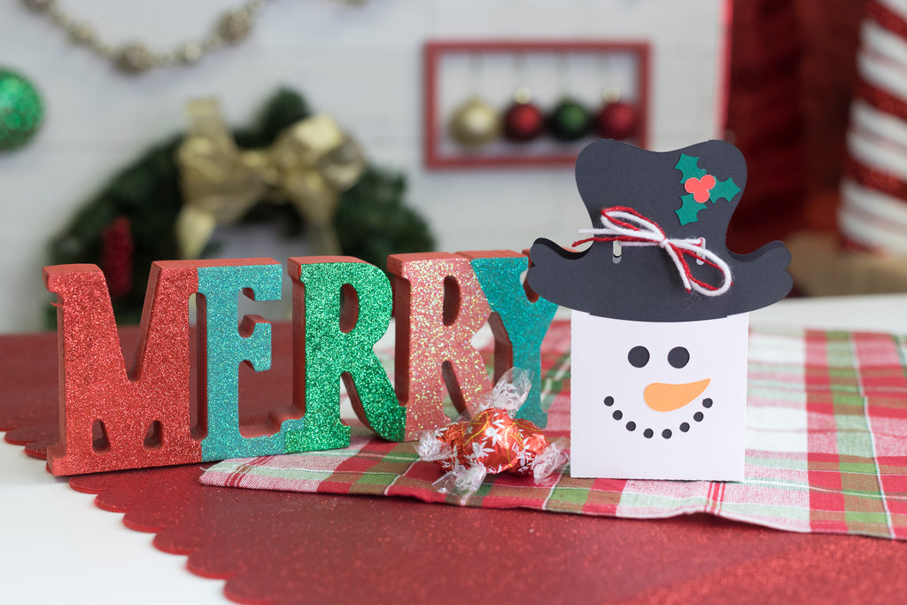 DIY Snowman Favor Boxes