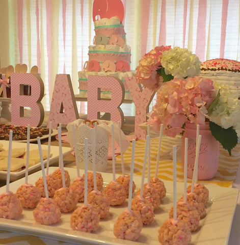 Baby Girl Pink Shower