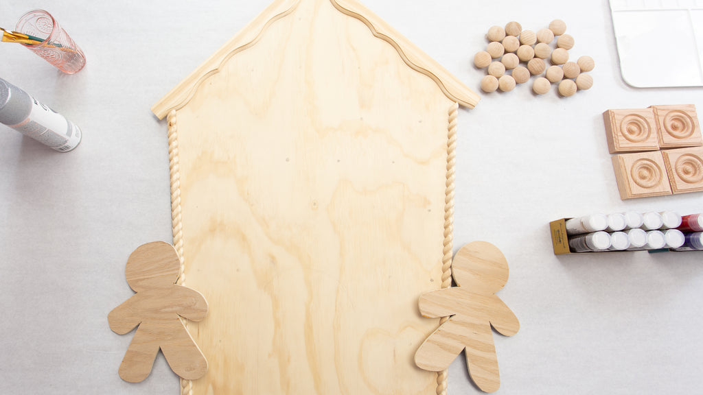 DIY Gingerbread Advent Calendar